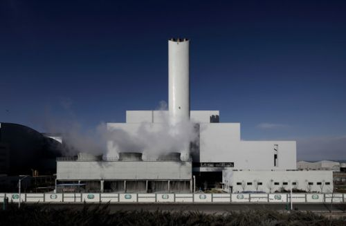 Incineration Center of Domestic Waste Comprehensive Treatment Plant at Chaoyang District / Atelier Li Xinggang