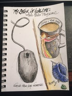 The Stuck at Home Sketch Journal: Making the most of a rough situation