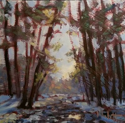 Winter Landscape Art and Prints Heidi Malott