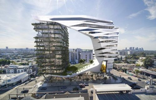 Morphosis Designs a 15-Story Hotel for L.A.'s Sunset Strip