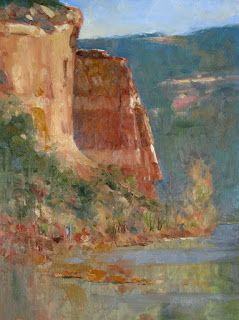 Reversing the Plein Air Painting Process