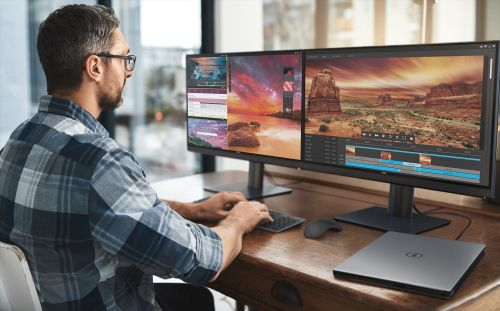 Dell Unveils Pro 4K Monitor with 100% AdobeRGB, Thunderbolt 3, and Built-In Calibrator