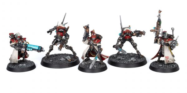 Showcase: Adeptus Mechanicus Forge World Metalica Kill Team 1