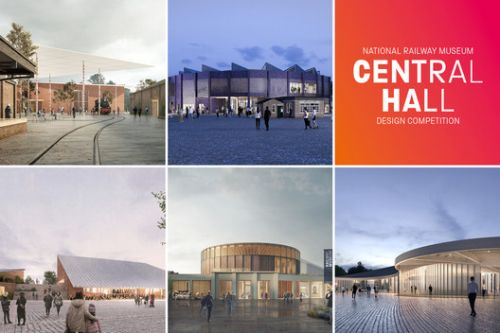 National Railway Museum Central Hall Competition Reveals 5 Final Design Concepts
