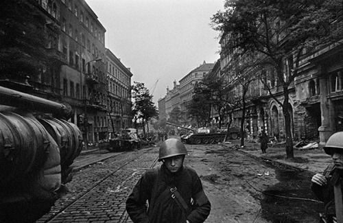 The Prague Spring ends - 50 years ago today, Josef Koudelka
