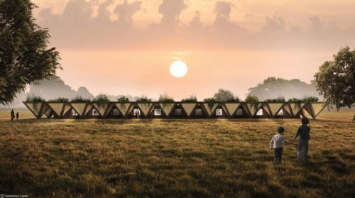 In Africa, A Modular Prototype School Combines the Practical and Utopian