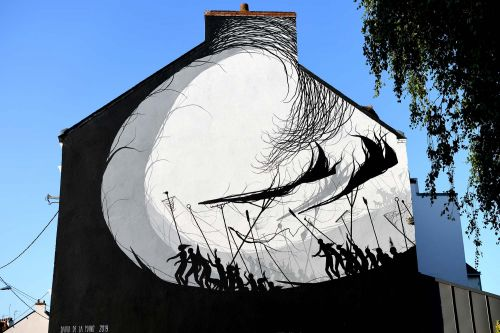 """""""Before The Silence"""" by David De La Mano in Saint-Nazaire, France"""