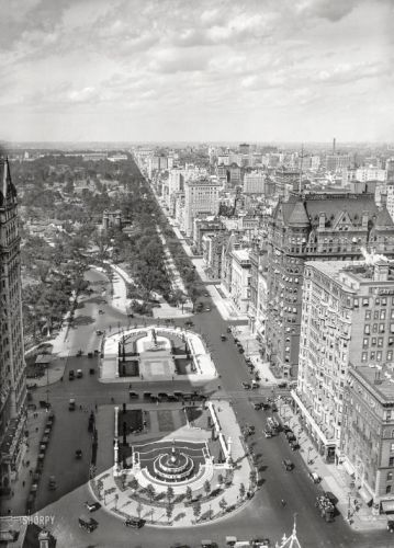 North on Fifth: 1918