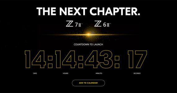 Nikon Confirms: Z6 II and Z7 II are Coming on October 14th
