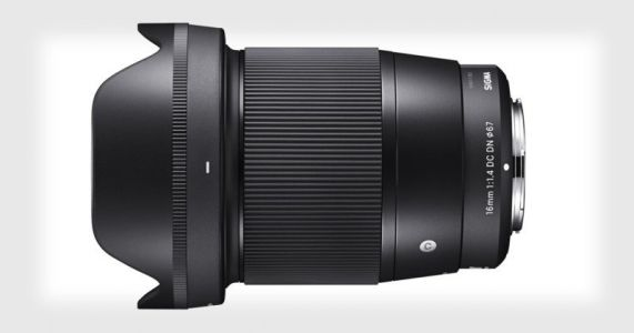Sigma Unveils First 16mm f/1.4 Lens for Sony Mirrorless Cameras