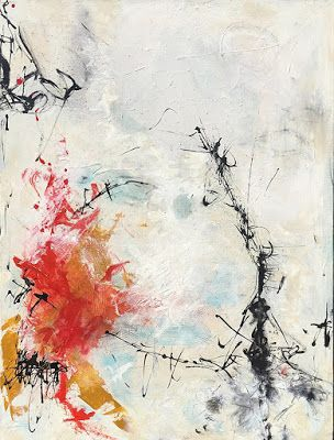 "Contemporary Abstract Expressionist Fine Art Painting, ""ZEN ERUPTED"