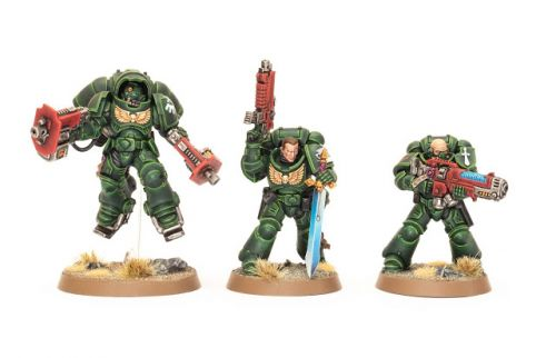 Showcase: Dark Angel Primaris Sergeants