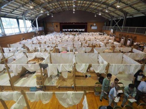 Shigeru Ban Creates Temporary Shelter System for Japanese Flooding Victims