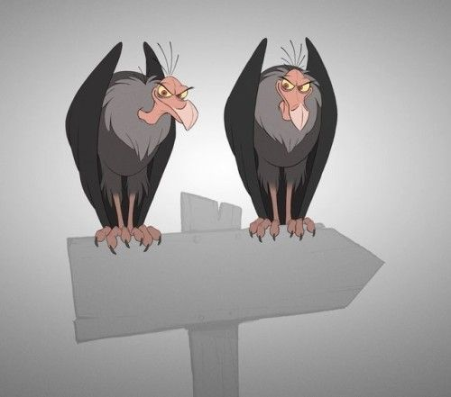Some incidental vulture animation for a personal project. This