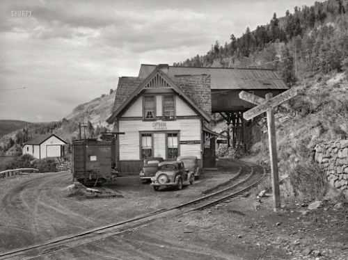 Ophir Station: 1940