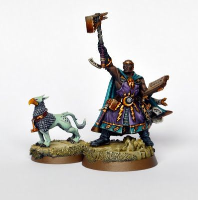 Showcase: Warhammer Quest Silver Tower Excelsior Warpriest