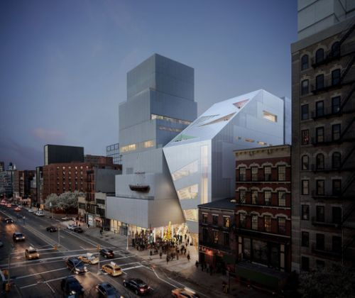 OMA Unveil their First Public Building in New York