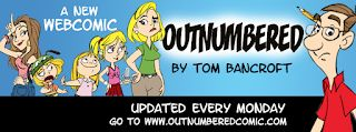New OUTNUMBERED Strip is up!