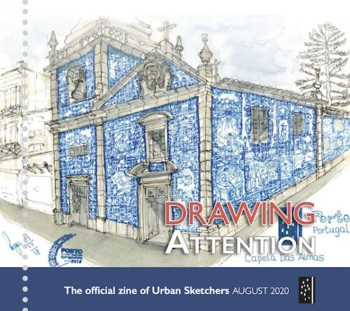 Drawing Attention August 2020
