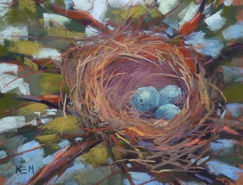 Lessons to be Learned from Painting a Bird Nest