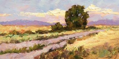 20x10 inch LANDSCAPE by TOM BROWN