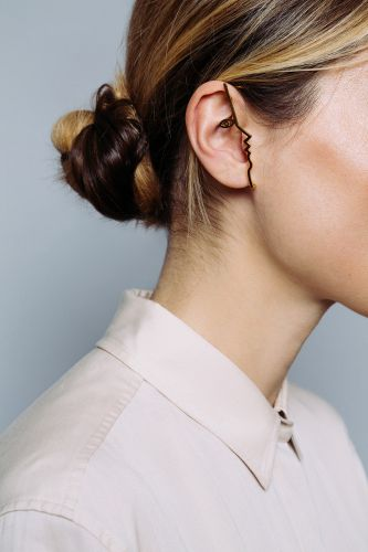 Elegant Jewelry Collection Designed by Mara Paris Profiles Subtle Faces