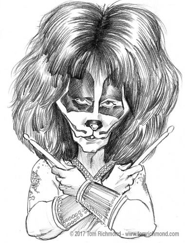 Sketch o'the Week- Peter Criss!