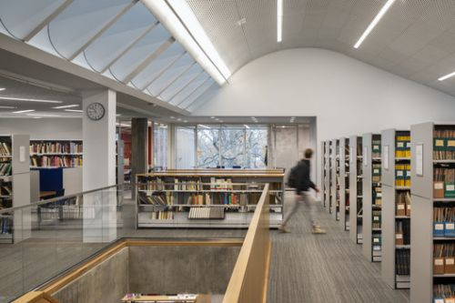 Tate Library at Ethical Culture Fieldston School / Architecture Research Office