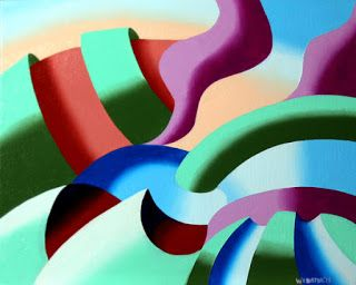 Mark Webster - The Modern Landscape 1.0 Abstract Oil Painting
