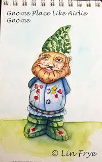 Journal Gnome Place Like Airline Gnome