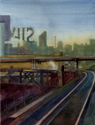 Watercolor - Queensboro