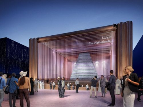 The Dutch Pavilion for Expo 2020 Creates a Temporary Biotope in the Desert
