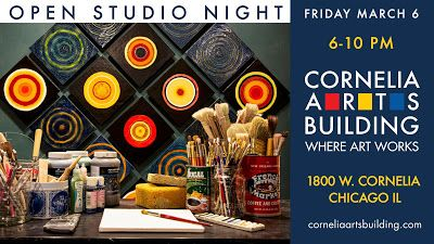 Cornelia Arts Building March 6 Open Studios