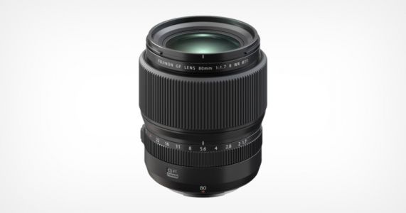 Fujifilm Announces the GF80mm f/1.7: The Fastest Medium Format AF Lens