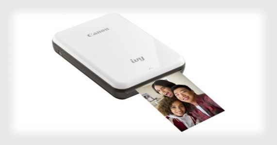 Canon Unveils IVY, A Compact Wireless Photo Printer