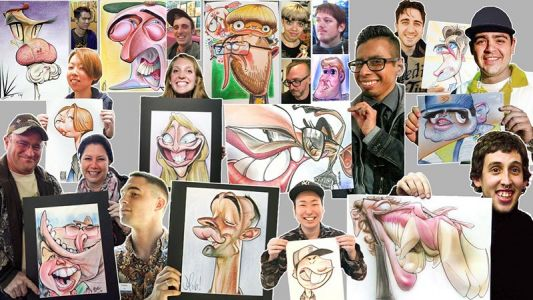 Caricature Book Kickstarter!