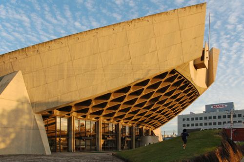 Kenzo Tange Gymnasium and 7 Other Threatened Sites Receive $1M in Preservation Funding