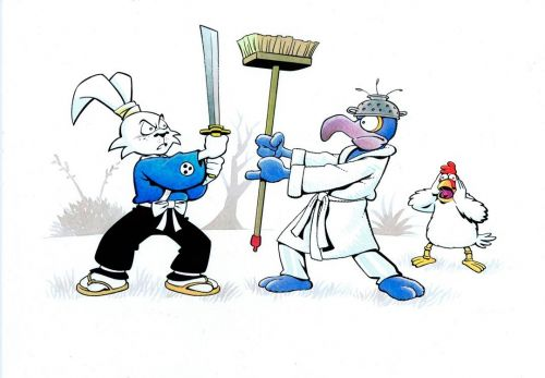 Usagi Yojimbo vs The Great Gonzo
