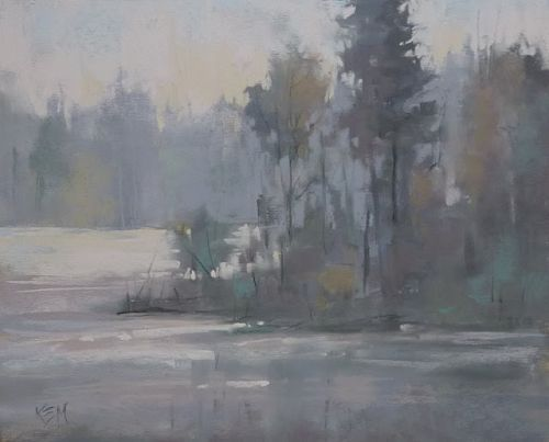 How to Paint a Bright Overcast Day
