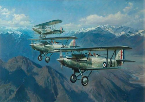 "Up Close: Frank Wootton's ""Harts Over the Himalayas"""