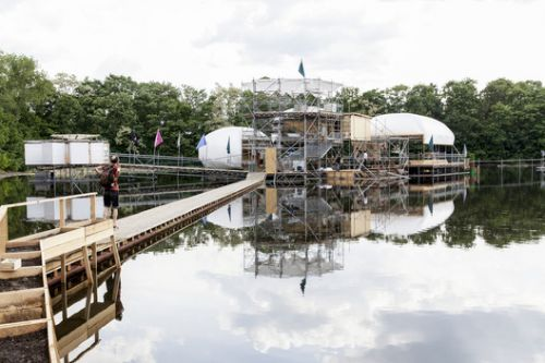 How Berlin's Floating University Charts the Course for Future Architectural Education
