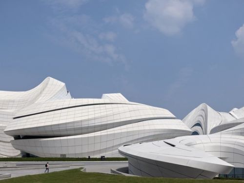 Changsha Meixihu International Culture and Art Centre / Zaha Hadid Design