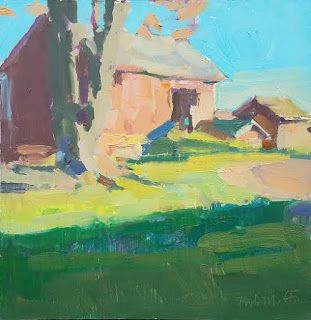Two Barns From The Family