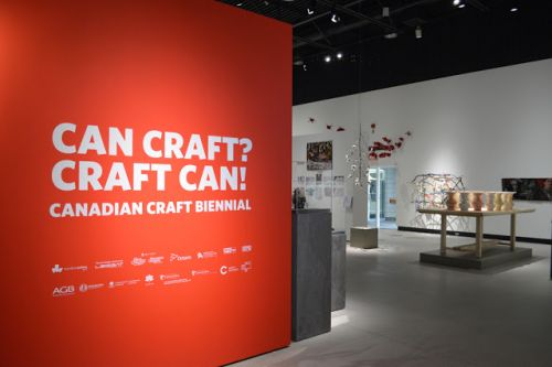 Biennale canadienne des métiers d'art - Canadian Craft Biennial - Can Craft? Craft Can!