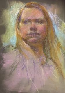 SKETCH OF A MODEL by Susan Roden
