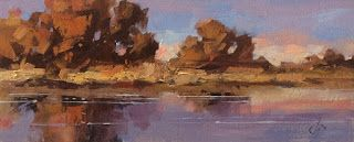 PANORAMIC OIL PAINTING by TOM BROWN