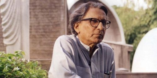 Watch Balkrishna Doshi's Live Pritzker Prize Laureate Lecture