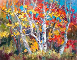 """Autumn Concerto II"" by Niki Gulley Available at Seaside Gallery"