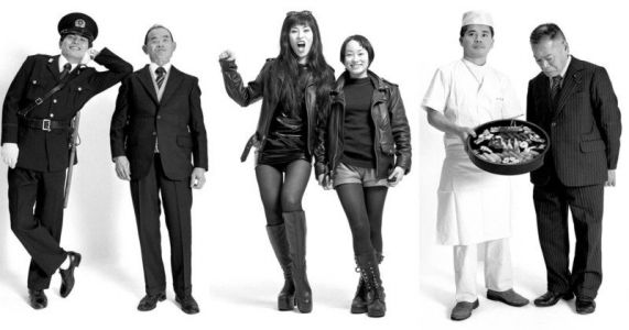 Portraits of Japanese Parents and Their Children