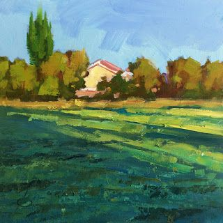 PLEIN AIR, MORNING LIGHT by TOM BROWN